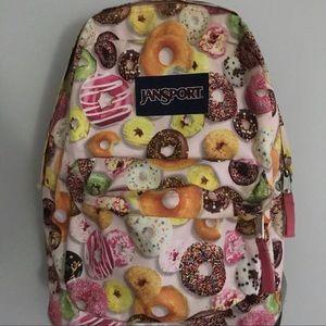 Jansport Donut Pink Icing Backpack